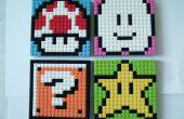 LEGO Mario Sprite Mosaiken