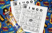 Comic-Con Bingo