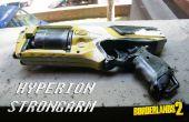 Nerf Strongarm Borderlands 2 Hyperion Pistole Replika