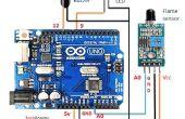 Branderkennung mit Arduino und Flamme Sensor