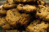 Erfrischende MINT Chocolate Chip Cookies