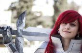 Erza Scarlet Herz Kreuz Rüstung: Schwert