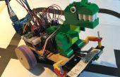 Labyrinth der Solver-Roboter mit künstlicher Intelligenz mit Arduino