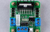 Arduino + L298 Motortreiber integriert