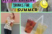 DIY-erfrischende Getränke für den Sommer
