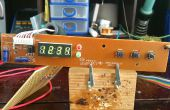 Wiederverwenden, elektronische Bauteile - 7-Segment-Anzeige basierend auf der PT6964