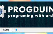 Abspielen auf pc mit Arduino und Progduino