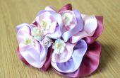 DIY-Ribbon Blume Haarspange