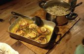 Leckere Hähnchen mit Zitrone und Knoblauch