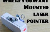 WhereYouWant montiert Laser-Pointer