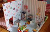 Puppenhaus für kleine Play set Figuren