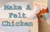 Gewusst wie: ein Filz Huhn machen