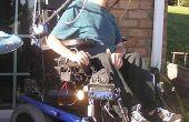Cabriodach für Hot-Rod-Rollstuhl