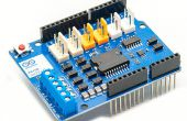 [Arduino motor Shield] Zeile nach Roboter (FC-51)