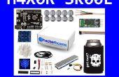 HackerBoxes 0005: LED-Pixel, 2D Matrix 4 x 4 x 4 Würfel und Bluetooth-