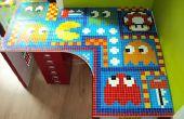 Pacman Fliesen Mosaik Tisch