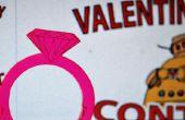 Valentines Ringe - Laser Cut kostenlos