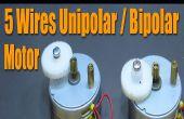 Stepper Motor Basics - 5 Kabel Unipolar / Bipolar Motor