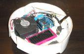 Ein weiterer Karton Roboter-Staubsauger mit Arduino gesteuert