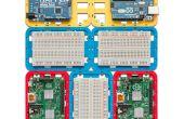3D-Druck modulare Unterstützung (Case) für Arduino und Raspberry Pi - CustoBlocks
