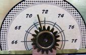 Temperatur-Messgerät mit einem Servo