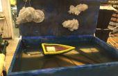 University of Cincinnati CCM - pneumatische Wasser Diorama