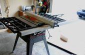 Nachrüsten A Delta T2 Zaun zu einem Handwerker-Tischkreissäge