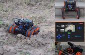 Rakshak eins: ein Rover für die Datensammlung und Überwachung mit Merkmalen der Datenprotokollierung, Stimme Warnungen und Messung zu distanzieren.
