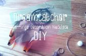 Traumfänger-Ohrringe-Dekoration-Halskette DIY