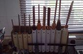 Drehbank Werkzeug Rack
