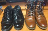 Wie man Schuhe glänzen