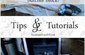 Wie erstelle eigene Butcher-Block