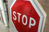 Wie erstelle ich ein Regal mit einem Stop-Schild