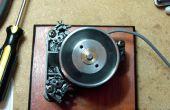 Spinner / Jog Wheel Inside Of ein Videorecorder Kopf