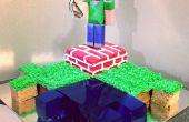 Cool Minecraft-Kuchen, der einfach zu bewerkstelligen ist, und wird die meisten eingefleischten Minecraft Spieler gefallen.