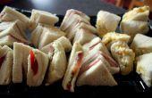 Englische Sandwiches