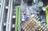 Kondensator in Computerplatine ersetzen