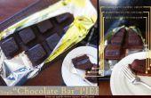 """Dreibettzimmer """"Schokoriegel"""" PIE (Chocolate Pie geformt wie eine Tafel Schokolade)"""