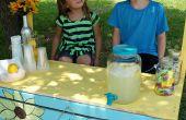 Palette Limonadenstand
