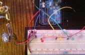 Potentiometer Werte durch LED