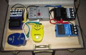 Gitarre Pedal Board Koffer mit Lagerung