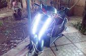 DIY-2-Wheeler/Fahrrad LED Tagfahrlicht