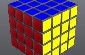 Lösen Sie die 4 x 4 Rubiks Cube einfach!