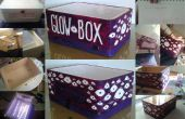 Zeichnung Tisch - Glow Box