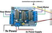 Ein weiterer Arduino Fernbedienung Auto gesteuert durch Android-Handy mit Bluetooth-Modul