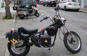 Einfache DIY Elektro Motorrad Umstellung