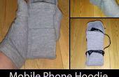 Handy-Hoodie und SMS Handschuhe