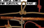 Schnelle Fähigkeiten #2: 5 einfache Knoten Überlebenskampf Teil 2