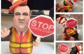Wie öffentlich lächerlich Chris Christie mit einem 3d gedruckte Action Figur