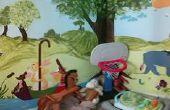 DIY-wie Sie malen eine Wandbild (Winnie The Pooh)